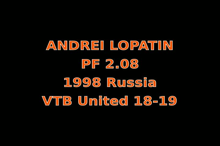 Video thumbnail of Andrei Lopatin