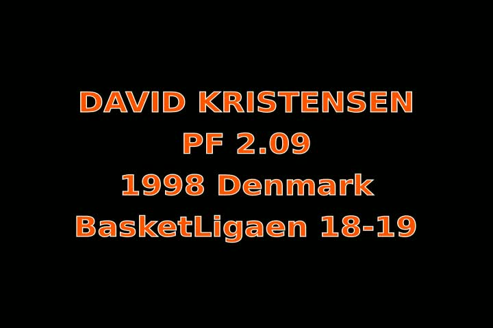 Video thumbnail of David Kristensen