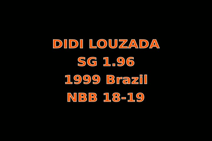 Video thumbnail of Didi Louzada Silva
