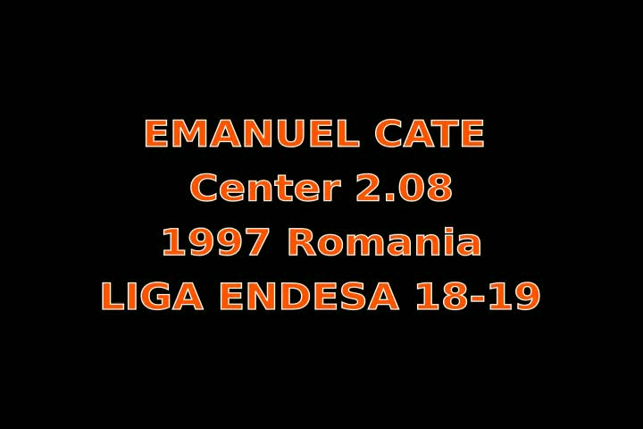 Video thumbnail of Emanuel Cate