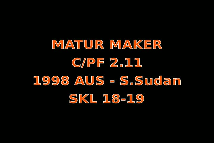 Video thumbnail of Matur Maker